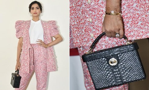 Sonam Kapoor Trolled For Wearing Mangalsutra Around Wrist