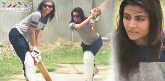 Malti Chahar Batting