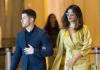 Nick Jonas Priyanka Chopra at wedding