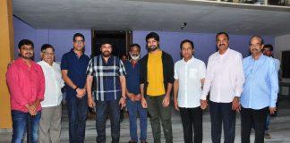 Megastar Chiranjeevi Watched Vijetha Movie