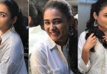 Shalini Pandey Looking Gorgeous In White