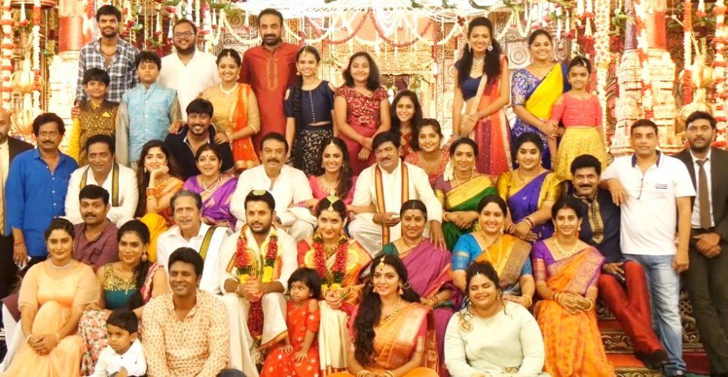 Srinivasa Kalyanam Movie Making Video Nithiin
