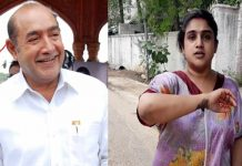Vijay kumar complaint on his daughter Vanitha
