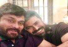 Ram Charan's congratulations to Chiru