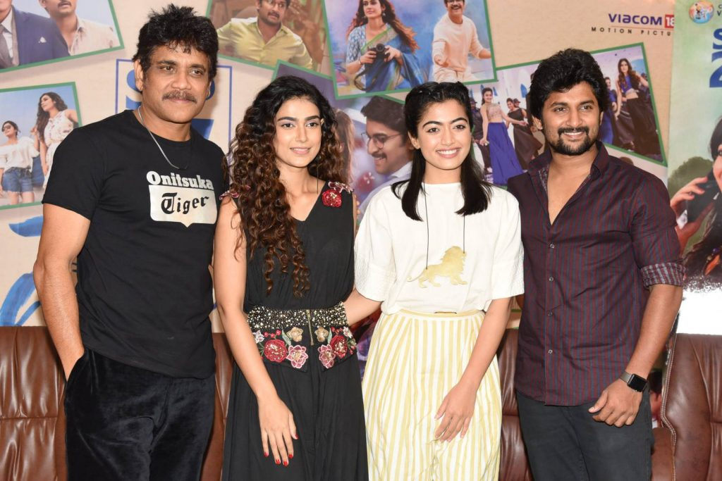 Devadas Movie Press Meet Images