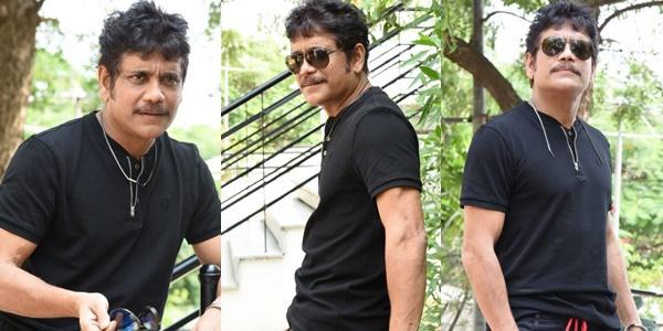 Akkineni Nagarjuna Interview Stills Devadas Movie