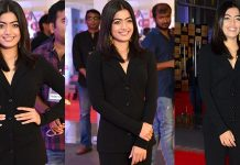 Rashmika Mandanna At Gaana Mirchi Music Awards South 2018 Photos