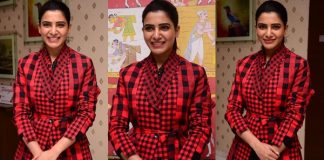 Samantha Stills From U Turn Movie Success Meet Photos