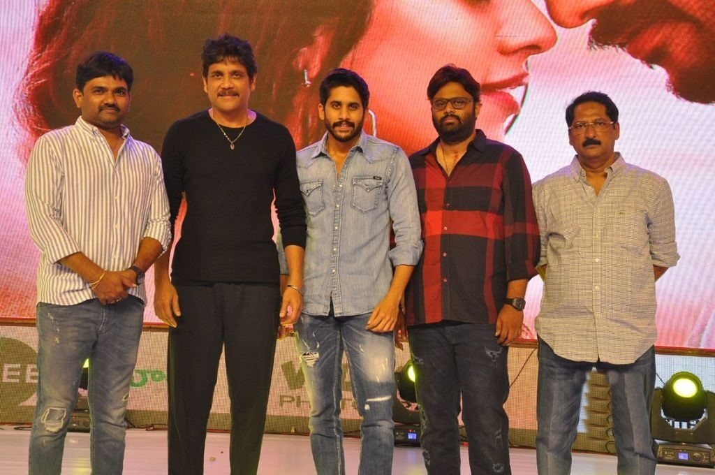 Shailaja Reddy Alludu Movie Pre Release Event  Pics