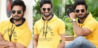 Sudheer Babu Interview Stills Nannu Dochukunduvate Movie