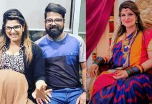 Actress Rambha Blessed With Third Child