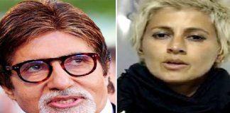 Hair Stylist Sapna Bhavani vs Amitabh Bachchan