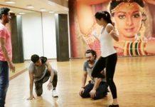 katrina kaif dance practice