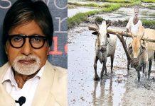Amitabh Bachchan about farmers
