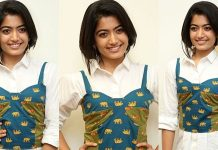 Actress Rashmika Mandanna At DevaDas Movie Grand Success Meet Images