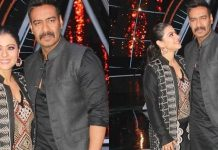 Ajay Devgn And Kajol At Indian Idol 10 Images