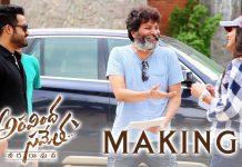 Aravindha Sametha Movie Making Video Jr NTR, Pooja Hegde