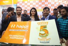 Happi Mobiles Grand Store Opening By Keerthi Suresh At Guntur Photos
