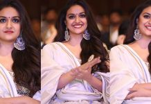 Keerthy Suresh At Pandem Kodi 2 Movie Audio Launch Event Images