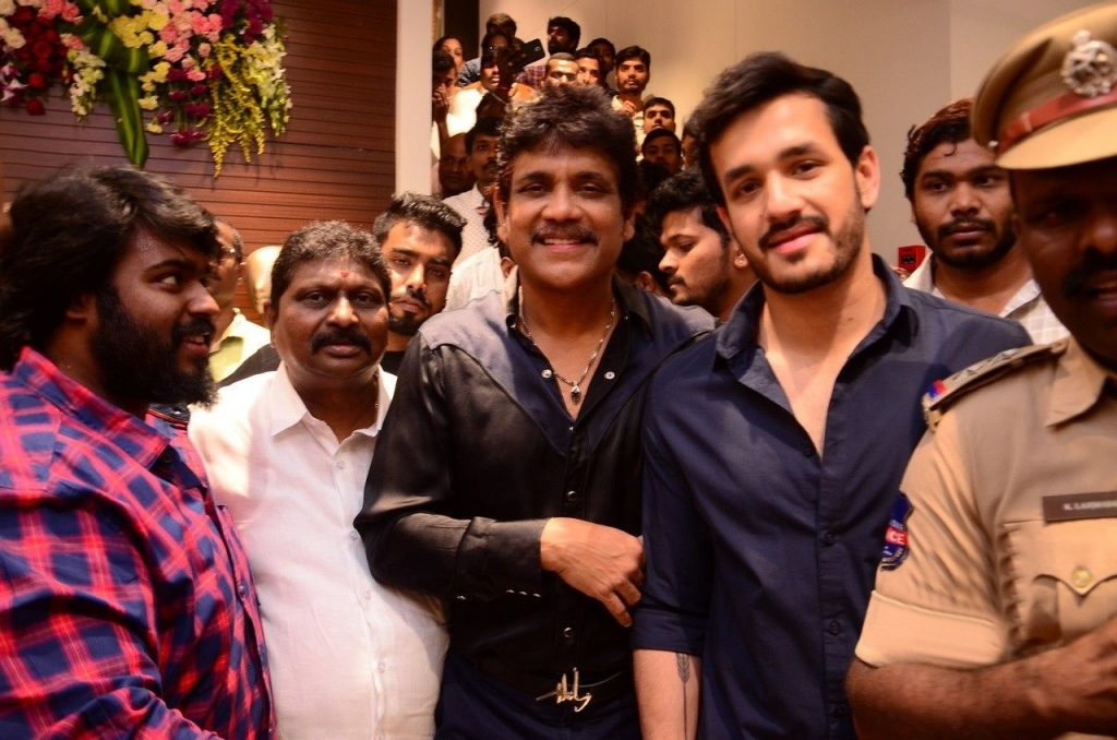 Nagarjuna And Akhil Launched South India Shopping Mall At Abids Images