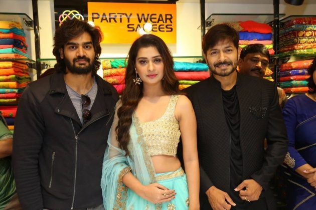 Payal Rajput, Kartikeya And Kaushal Manda Inaugurate KLM 8th Fashion Mall At Suchitra Images