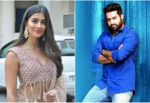 Jr NTR With Pooja Hegde