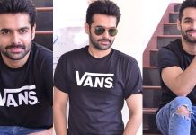Ram Pothineni Interview Images Hello Guru Prema Kosame