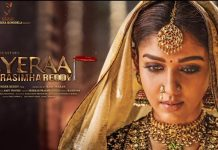 Nayanthara First Look From Sye Raa Movie