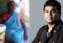 Andhra Pradesh woman impresses AR Rahman