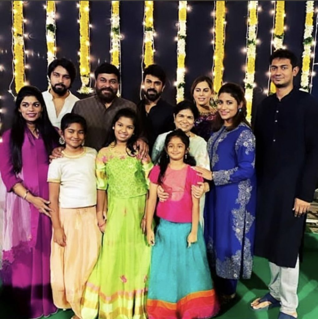 Mega Family Diwali Celebrations Images