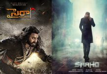 Sye Raa Vs Saaho movie Clash in August?