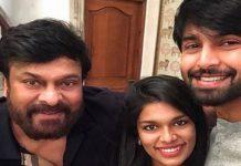 Sreeja Kalyan Dhev With Chiranjeevi