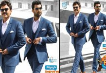 Venkatesh And Varun Tej Still From F2 Movie