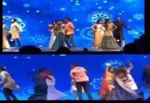 Ram Charan, Prabhas, Jr NTr Dance At SS Rajamouli Son's Sangeet