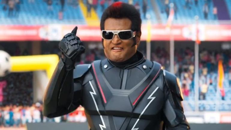 Rajinikanth's 2.0 Movie Rules The Roost   klapboardpost