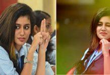 Wynk Girl Priya Prakash Varrier Oru Adaar Love In Telugu