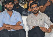 Ram Charan And Varun Tej At Anthariksham Movie Pre Release Event