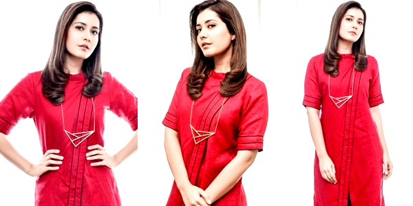 Actress Raashi Khanna Stills In Ravishing Red Photos