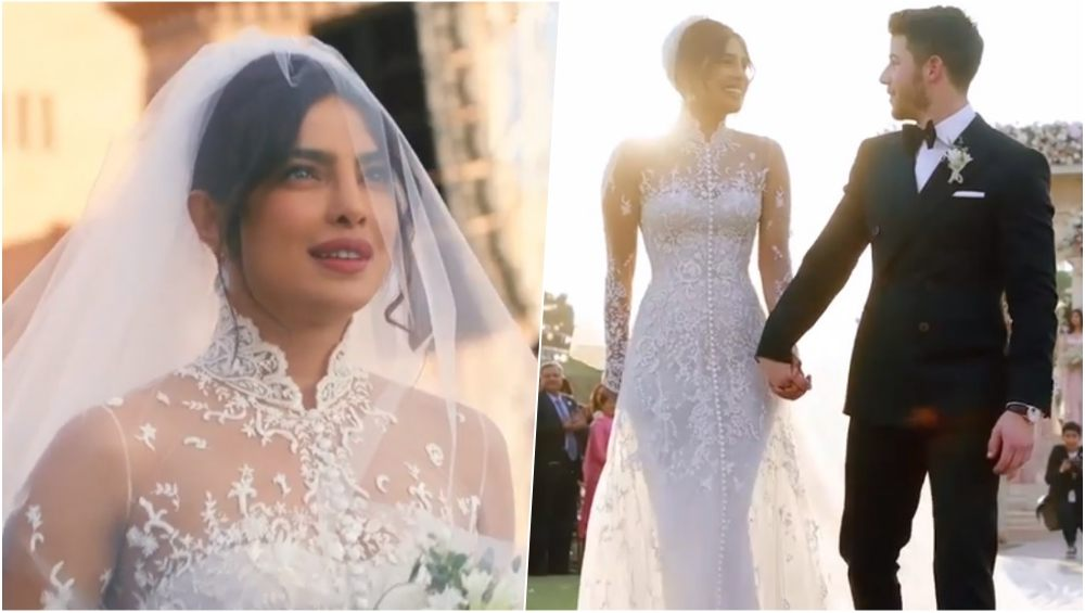 priyanka chopra wedding pics gown