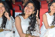 Sai Pallavi Stills From Padi Padi Leche Manasu Movie Pre Release Event