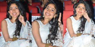 Sai Pallavi Stills From Padi Padi Leche Manasu Movie Pre Release Event