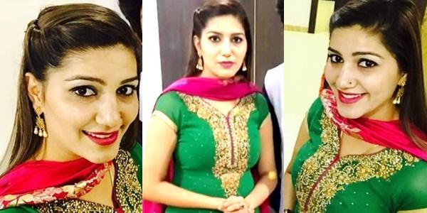 Sapna Choudhary stage performance