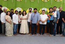 Mega family member Vaishnav Tej Movie Launch