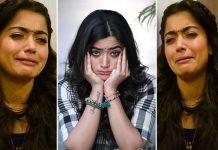 Rashmika Crying Images