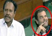 Rahul gandhi winks scene in Lok Sabha once again
