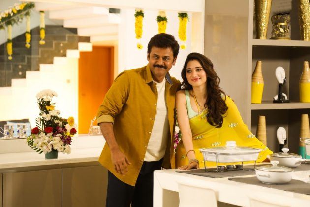 F2 Movie Latest Stills Venkatesh, Tamannaah