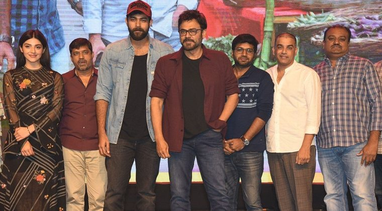 F2 Movie Success Meet Images