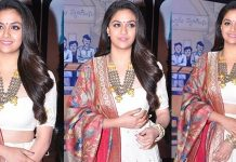 Keerthi Suresh Stills From Zee Cine Awards Telugu 2018 Red Carpet Images