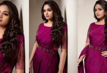 Keerthy Suresh Beautiful In Saree Photos