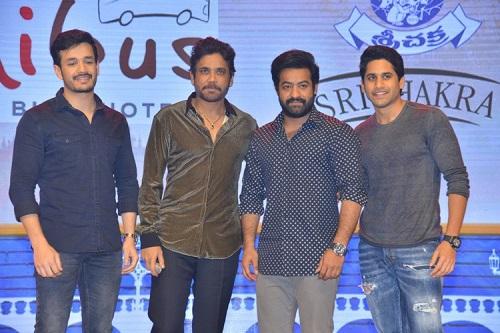 Mr Majnu Movie Pre Release Event Images